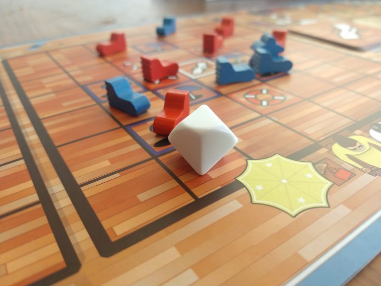 Picture of game board