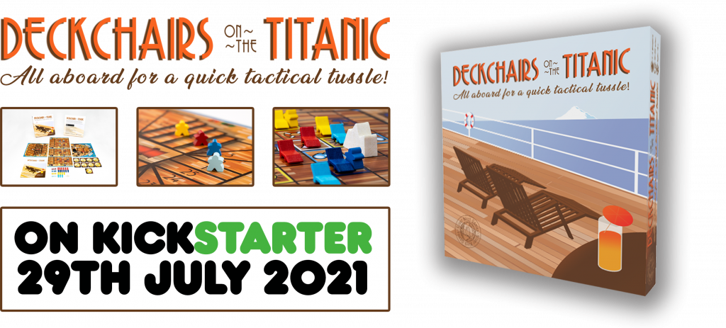 Deckchairs on the Titanic game images