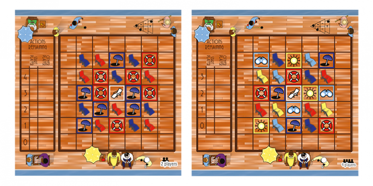 Fair 2 and 4 player boards